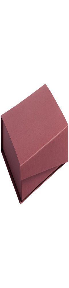 Коробка Duo под ежедневник и ручку, бордовая фото