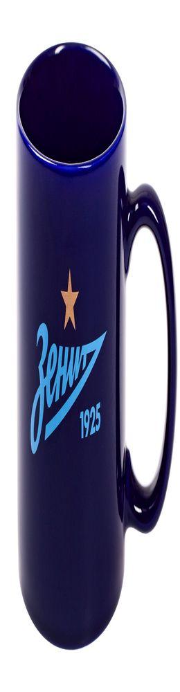 Кружка «Зенит», синяя фото
