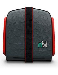 Автокресло-бустер Mifold, темно-серое фото