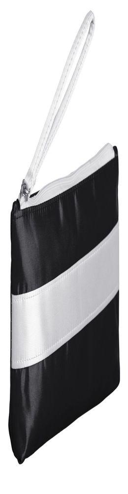 Пенал-косметичка Unit Weekender, черный с белым фото