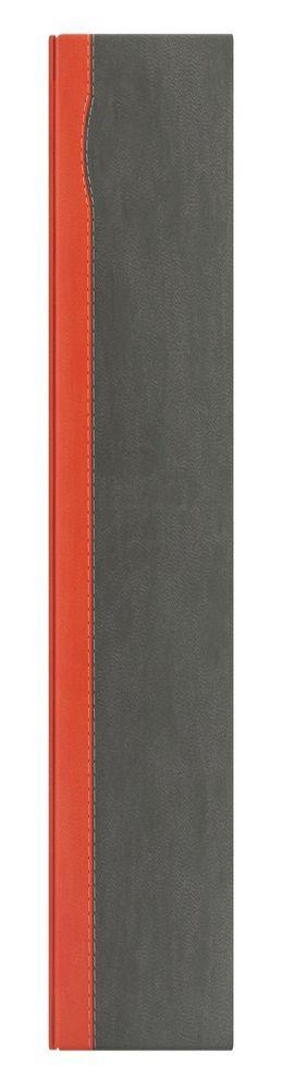 Недатированный ежедневник REPORT 5451 (650U) 145x205 мм оранжевый/серый без лого фото