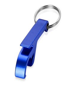 Брелок-открывалка, синий фото