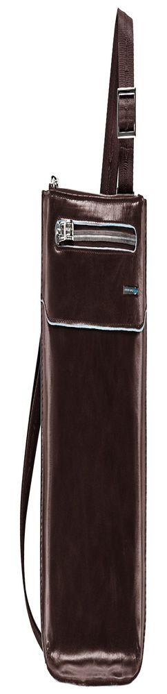 Сумка Piquadro Blue Square, красно-коричневая фото