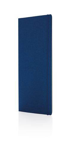 Блокнот Deluxe в мягкой обложке B5, синий фото