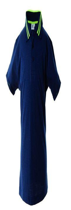 TENERIFE Поло с короткими рукавами синий деним фото