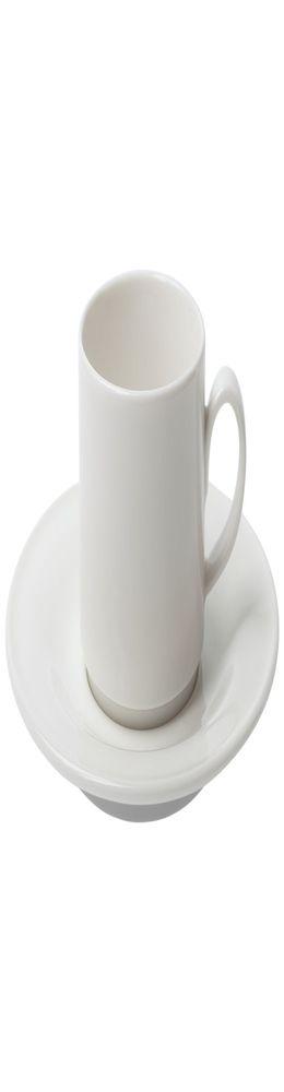 Кофейная пара Maxim Diamond, молочно-белая фото