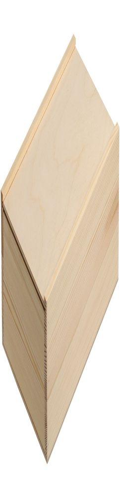 Деревянный ящик Locker, малый, неокрашенный фото