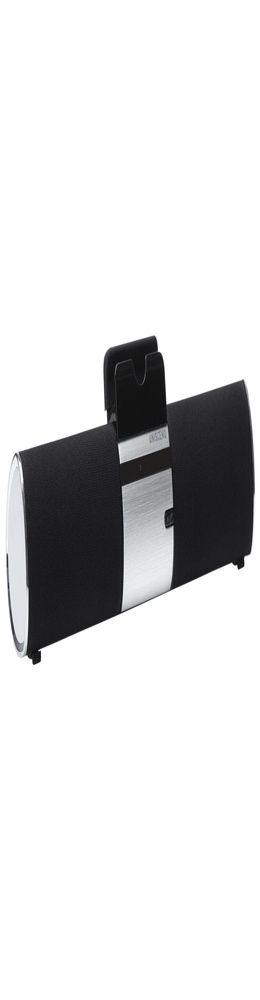 Беспроводная стереофоническая колонка Uniscend Trinity, черная глянцевая фото