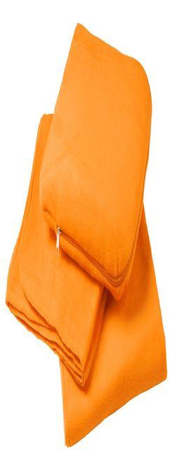 Дорожный плед TRAVEL, светло-оранжевый фото