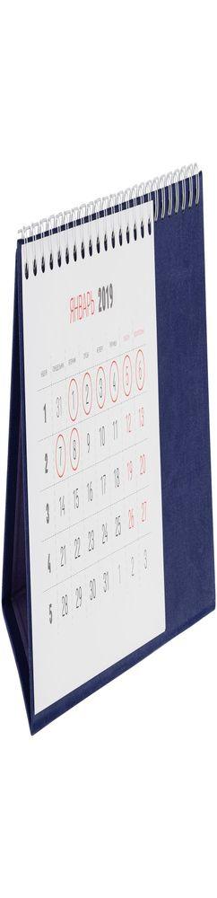 Календарь настольный Brand, синий фото