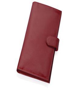 Портмоне дорожное 2-в-1 с отделениями для документов, банкнот и кредитных карт. Внутренняя часть отстегивается и может использоваться как отдельное портмоне фото
