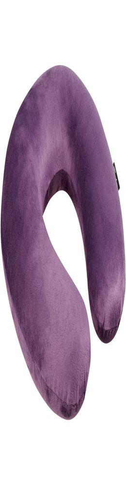 Подушка Plume Accessoires, фиолетовая фото