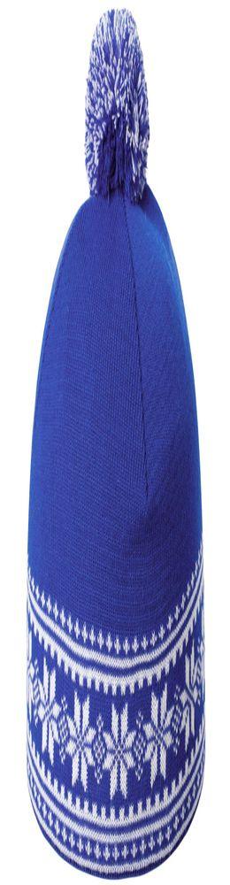 Шапка «Скандик», синяя (васильковая) фото