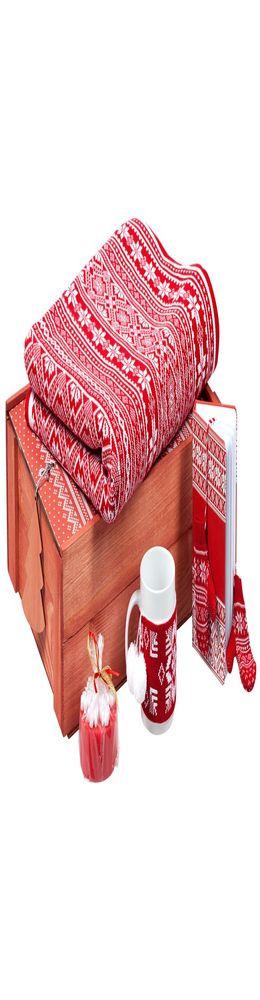 Подарочный новогодний набор «Уютный зимний вечер», красный фото