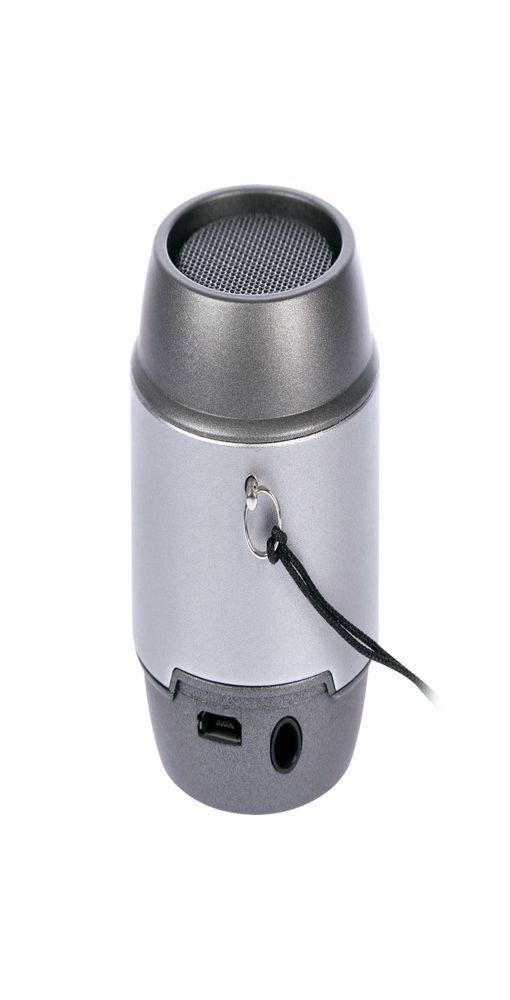 Беспроводная Bluetooth колонка PICO, серая фото