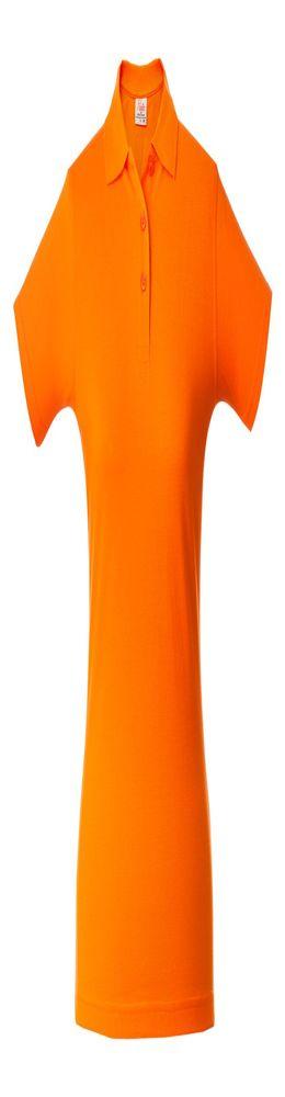 Рубашка поло женская SURF LADY, оранжевая фото