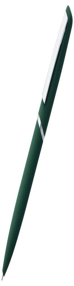Ручка шариковая Bolt Soft Touch, зеленая фото