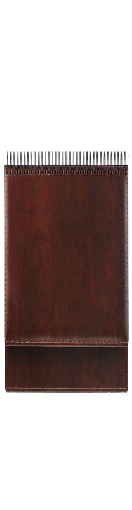 Планинг датированный Madrid 5497(794) 298х140 мм, коричневый, кремовый блок, золотой срез 2019 фото