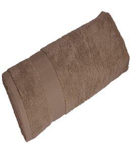 Полотенце махровое среднее, бежевый фото