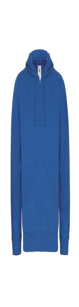 Толстовка мужская Hooded Full Zip ярко-синяя фото