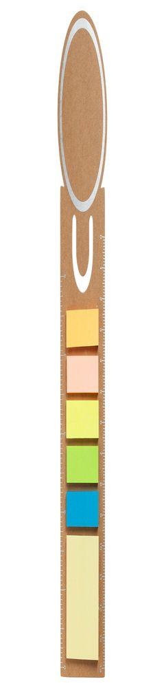 Закладка «Круг» со стикерами, крафт фото