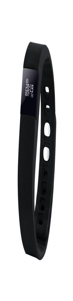 Смарт-браслет Portobello Trend, The One, электронный дисплей, браслет - силикон, черный фото