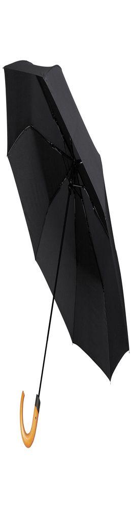Складной зонт Unit Classic, черный фото