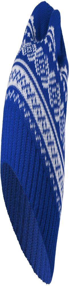 Шапка Lambient, синяя с белым фото