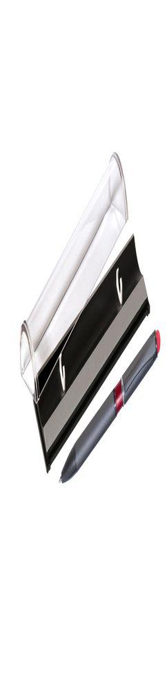 Шариковая ручка, IP Chameleon, цвет.база под лазерную гравировку, нажимной. мех-м, корпус-металл.,красный, сил. стилус, в упаковке фото