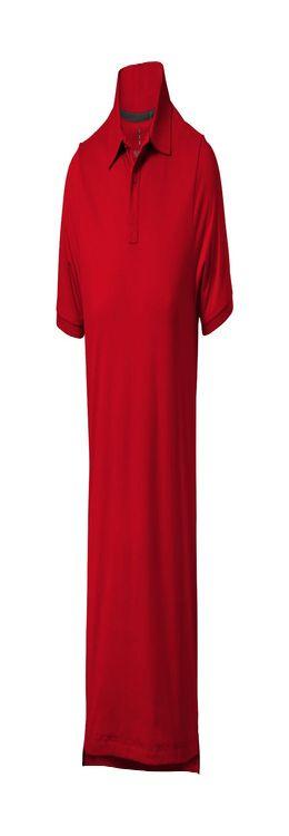"""Рубашка-поло """"Yukon"""" мужская, красный фото"""