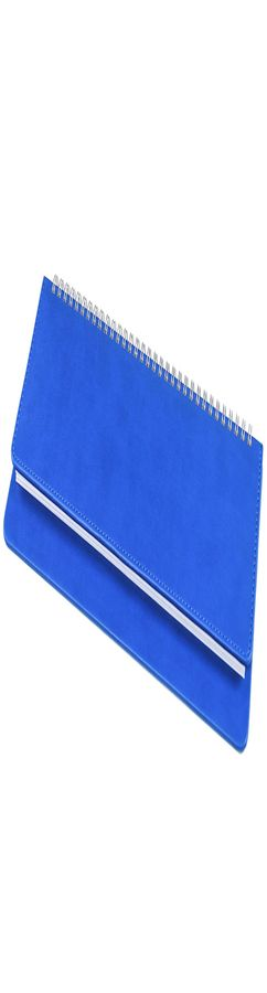 Планинг недатированный Bliss,  синий, белый блок, без обреза фото