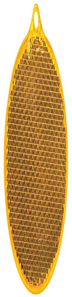 Пешеходный светоотражатель «Круг», оранжевый фото