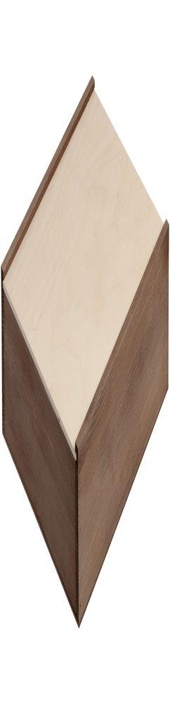 Деревянный ящик Karlo, большой, тонированный фото