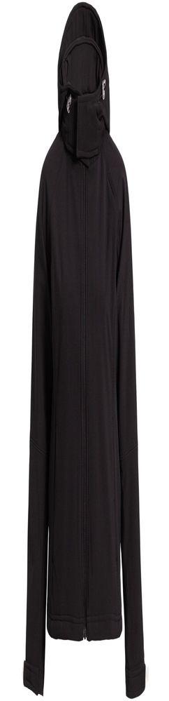Куртка женская Hooded Softshell черная фото