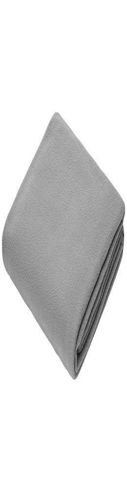 Флисовый плед Warm&Peace, серый фото