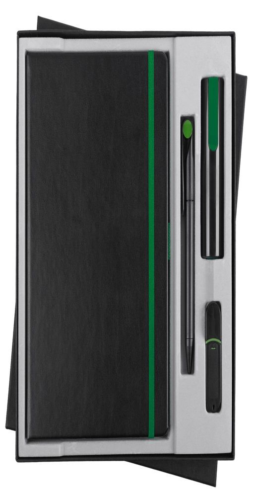 Набор Black Maxi, черно-зеленый фото