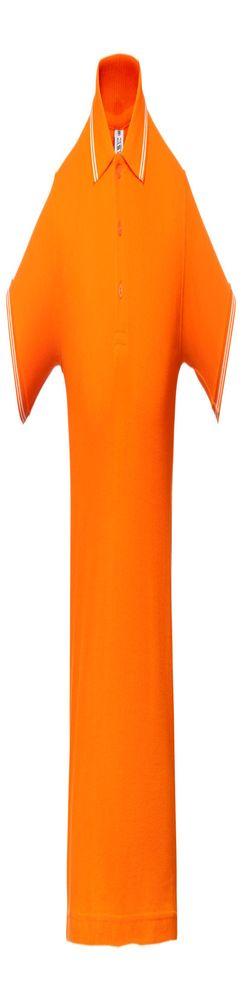 Рубашка поло Virma Stripes, оранжевая фото