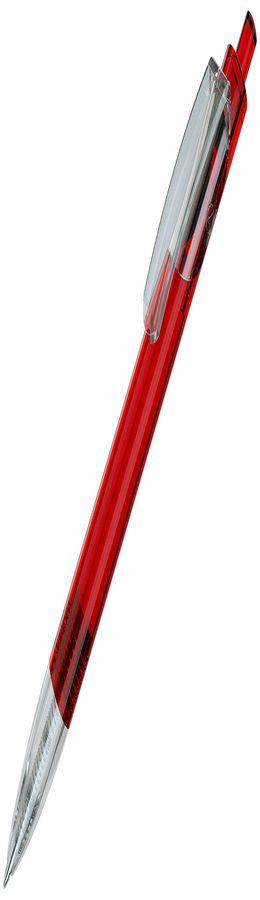 TRIS LX, авторучка шариковая, прозрачный красный фото