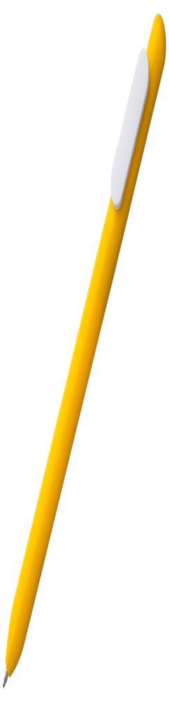 Ручка шариковая Slider, желтая с белым фото