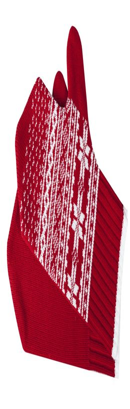 Варежки «Скандик», красные фото