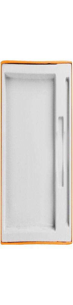 Коробка In Form под ежедневник, флешку, ручку, оранжевая фото
