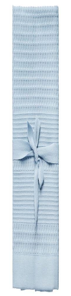 Полотенце вафельное Adore Medium, голубое фото