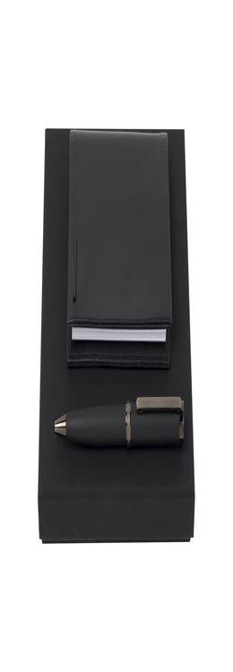 Подарочный набор: блокнот А7, ручка шариковая фото
