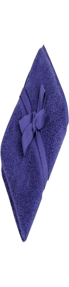 Полотенце махровое Majesty Small, синее фото