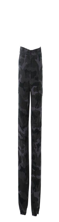 KABUL Штаны с карманами, темно-синий фото