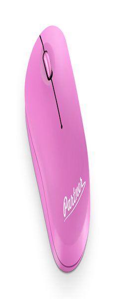 Мышь беспроводная Partner Cordless WM-030, розовая фото