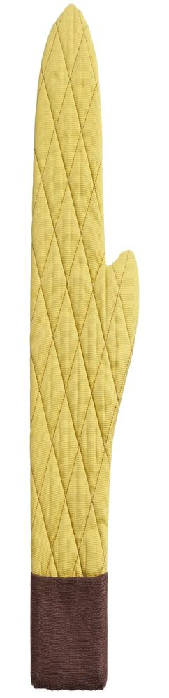 Прихватка-рукавица Keep Palms, горчичная фото