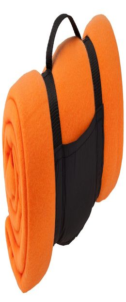 Дорожный плед Soft, светло-оранжевый фото