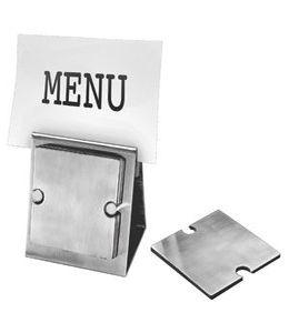 Набор: держатель для меню, 6 подставок под стаканы фото