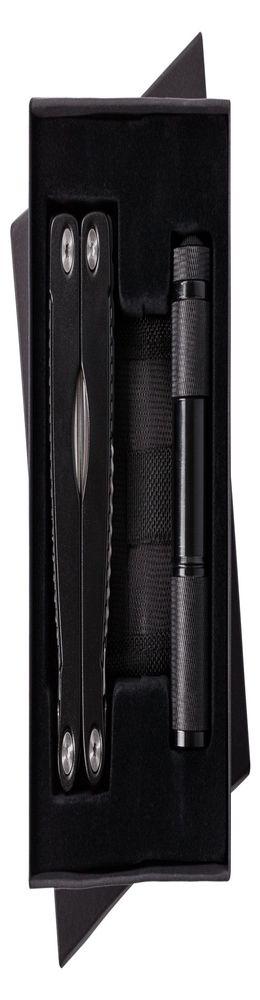 Набор Handmaster: фонарик и мультитул, черный фото